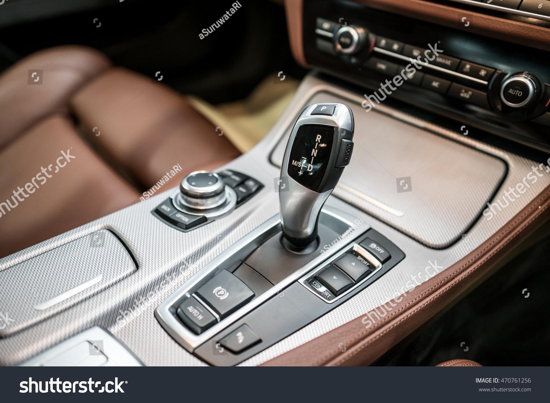 Detail Modern Car Interior Gear Stick Stock Photo Edit Now