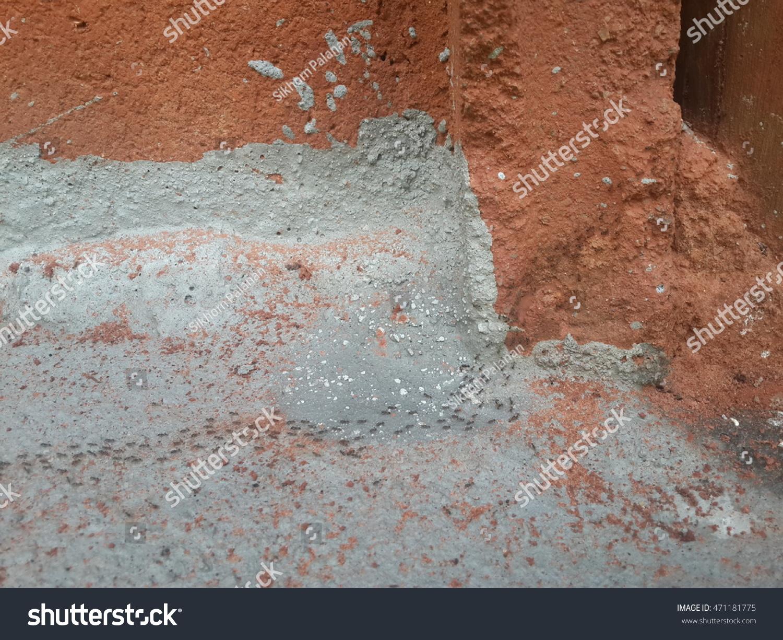 Ant Nest Moving Walk Near House Stock Photo (Edit Now) 471181775