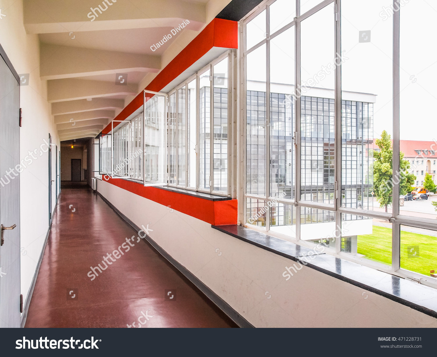 Dessau Germany June 13 2014 Bauhaus Stock Photo Edit Now 471228731