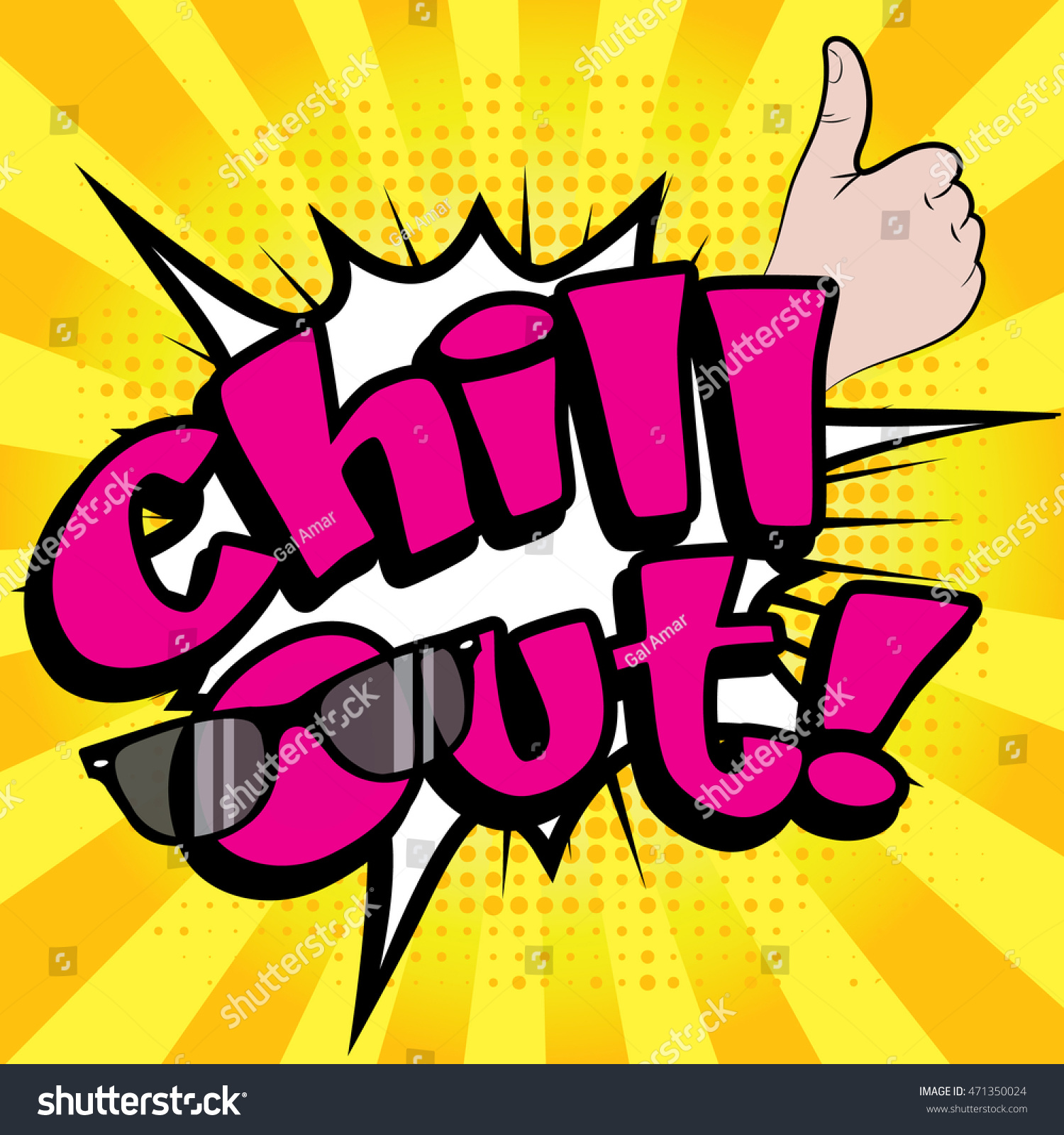 Chill Out Clip Art
