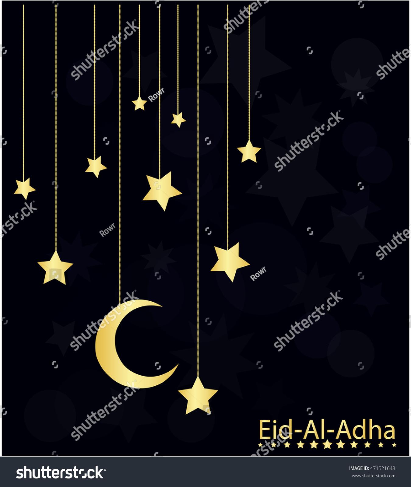 Eid al adha greeting card background stock vector 471521648 eid al adha greeting card or background vector illustration kristyandbryce Images