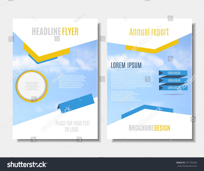 brochure template printable