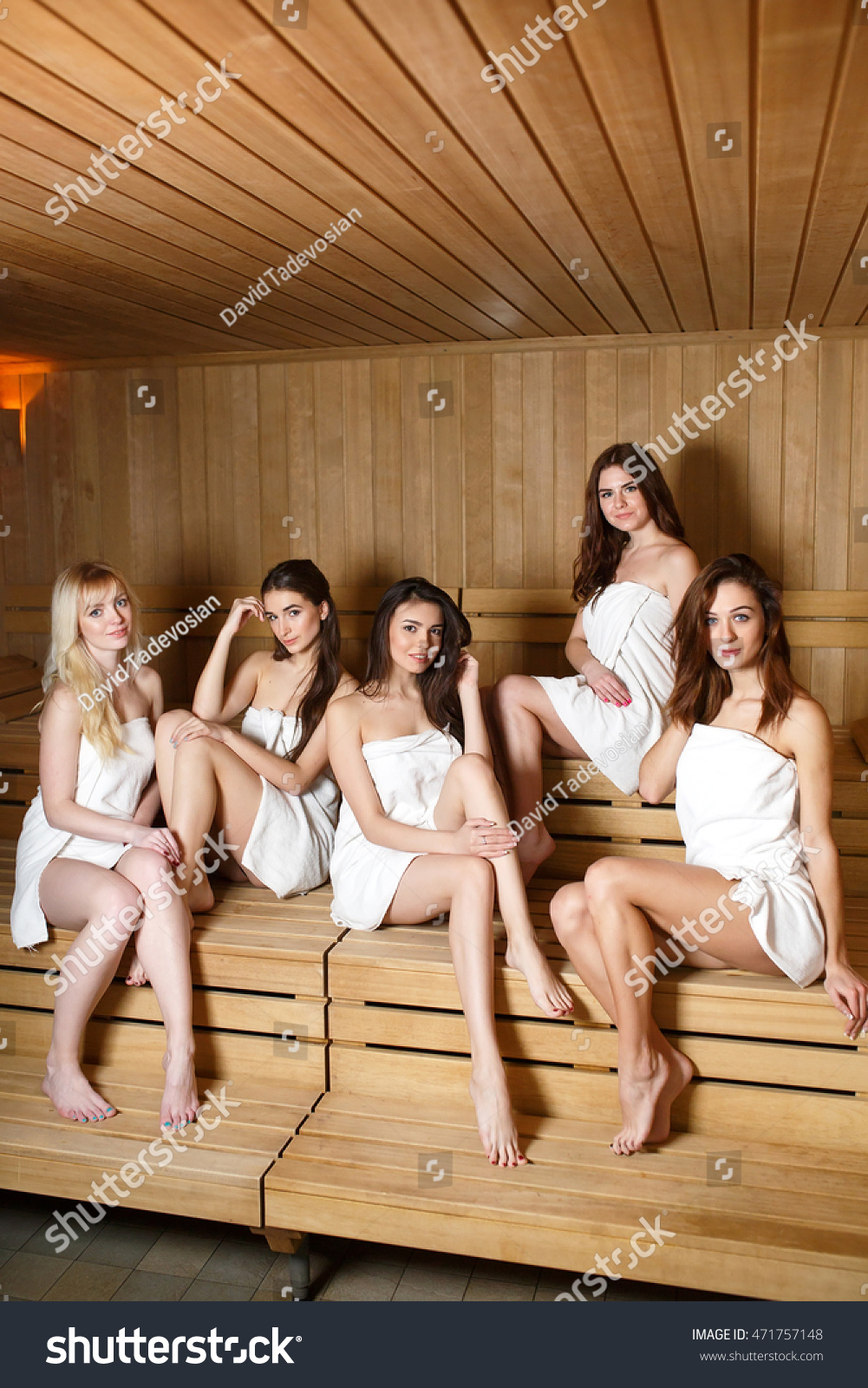 stock-photo-girls-relaxing-in-the-sauna-