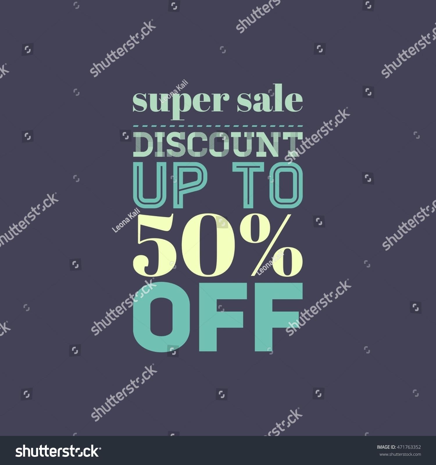 Super sale banner design shop online stock illustration for Online retailer for sale