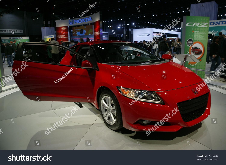 Chicago february 13 concept vehicle from honda motor for Honda motor company stock