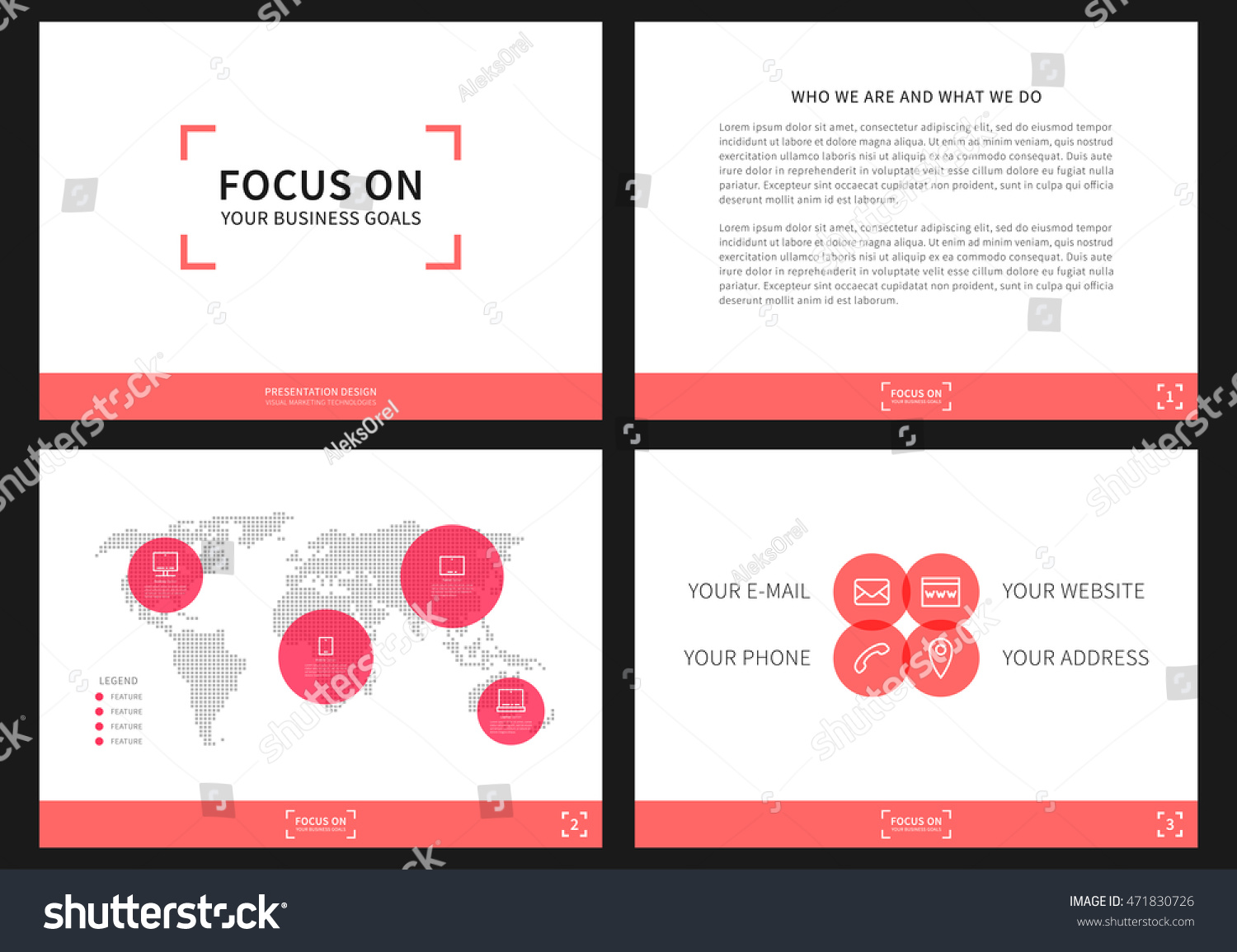 Presentation vector layout corporate documents annual stock vector presentation vector layout for corporate documents annual report business proposal book cover thecheapjerseys Images