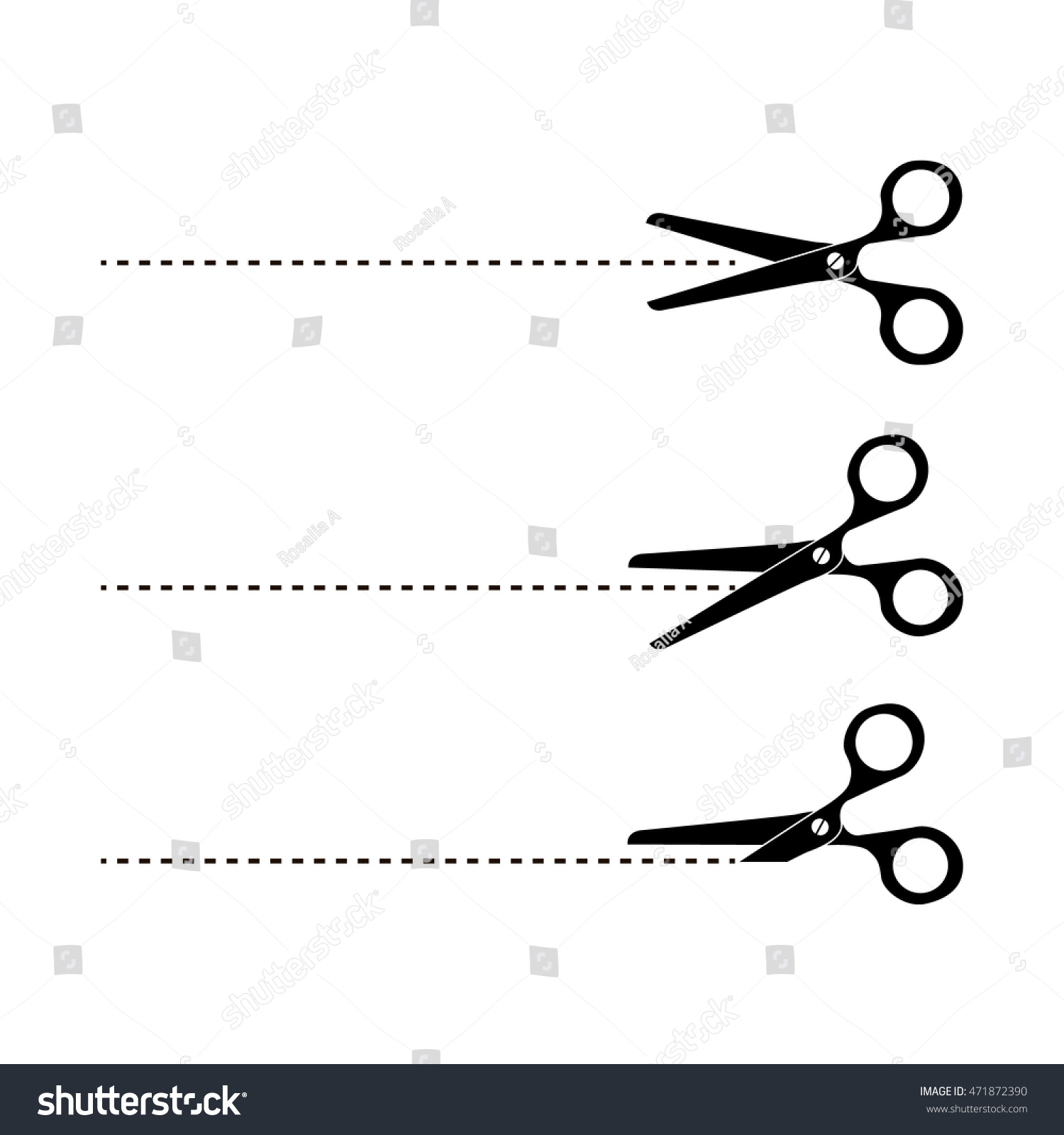 Cut here symbol scissors dotted line stock vector 471872390 cut here symbol scissors and dotted line cut here scissors biocorpaavc