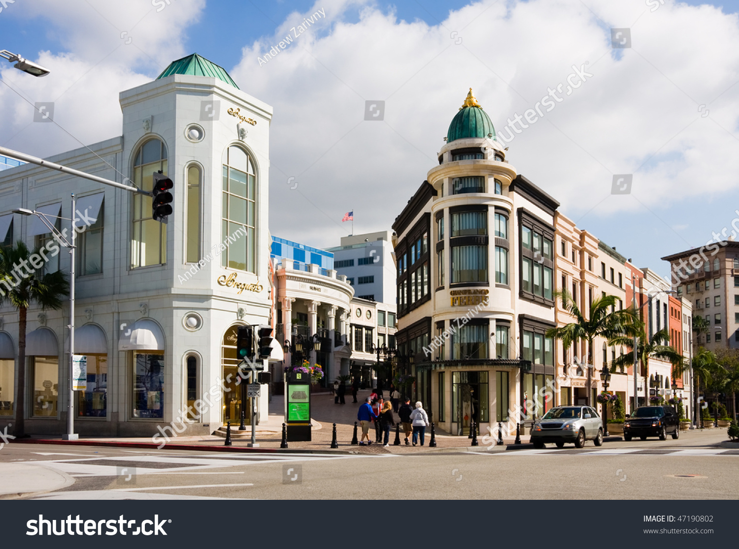 Beverly Hills February 8 Rodeo Drive Stock Photo 47190802