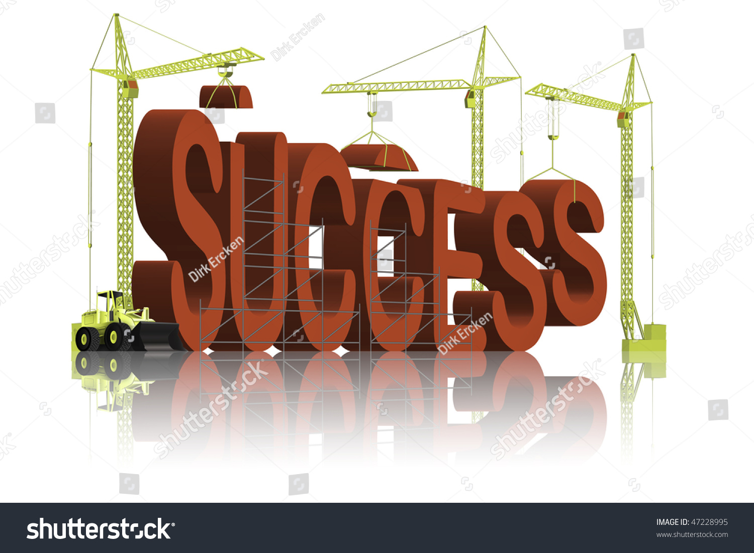 success building succeed your job career stock illustration success building succeed in your job or career train for victory and win work hard and