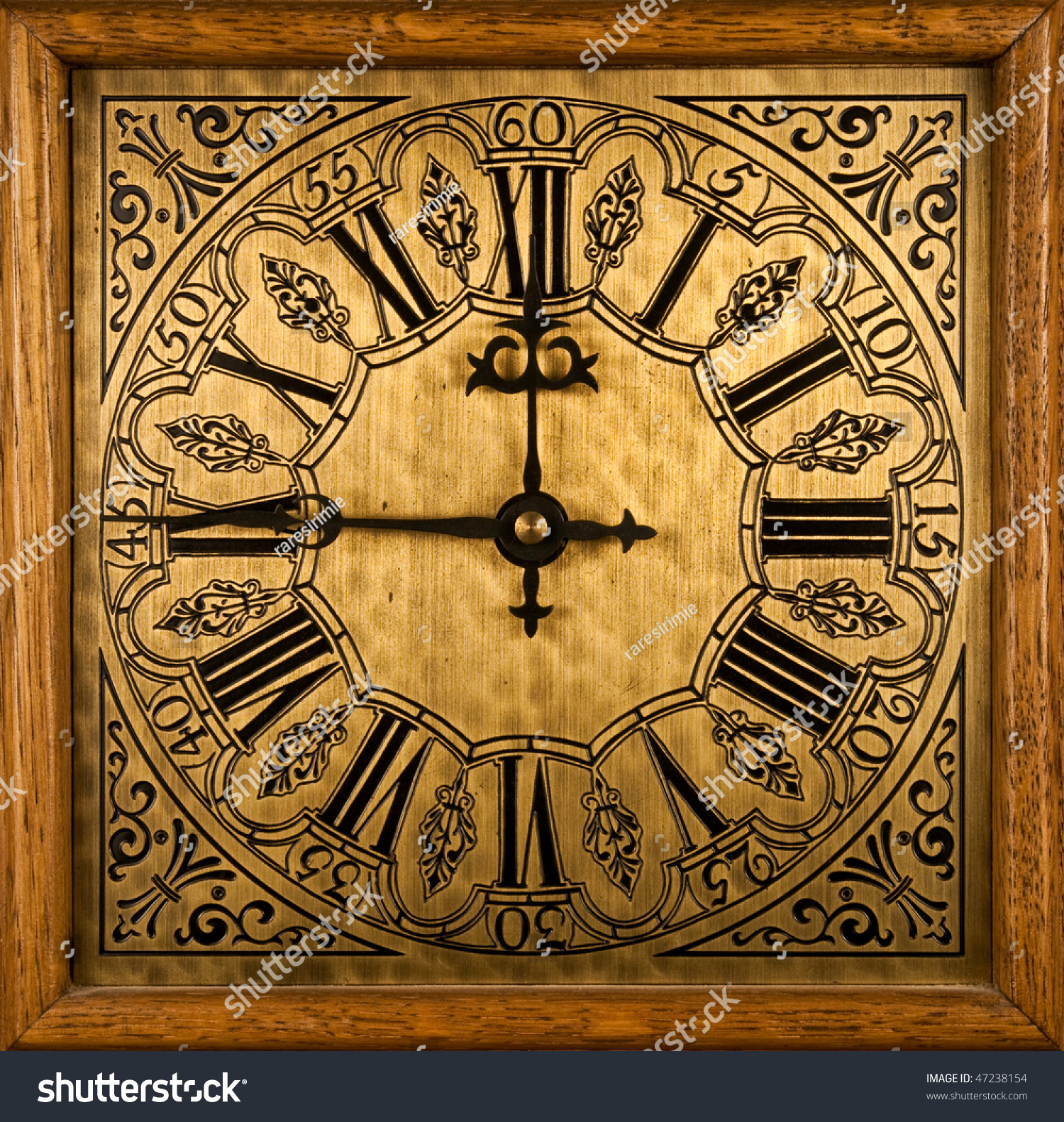 Medieval Clock Face Stock Photo 47238154 - Shutterstock