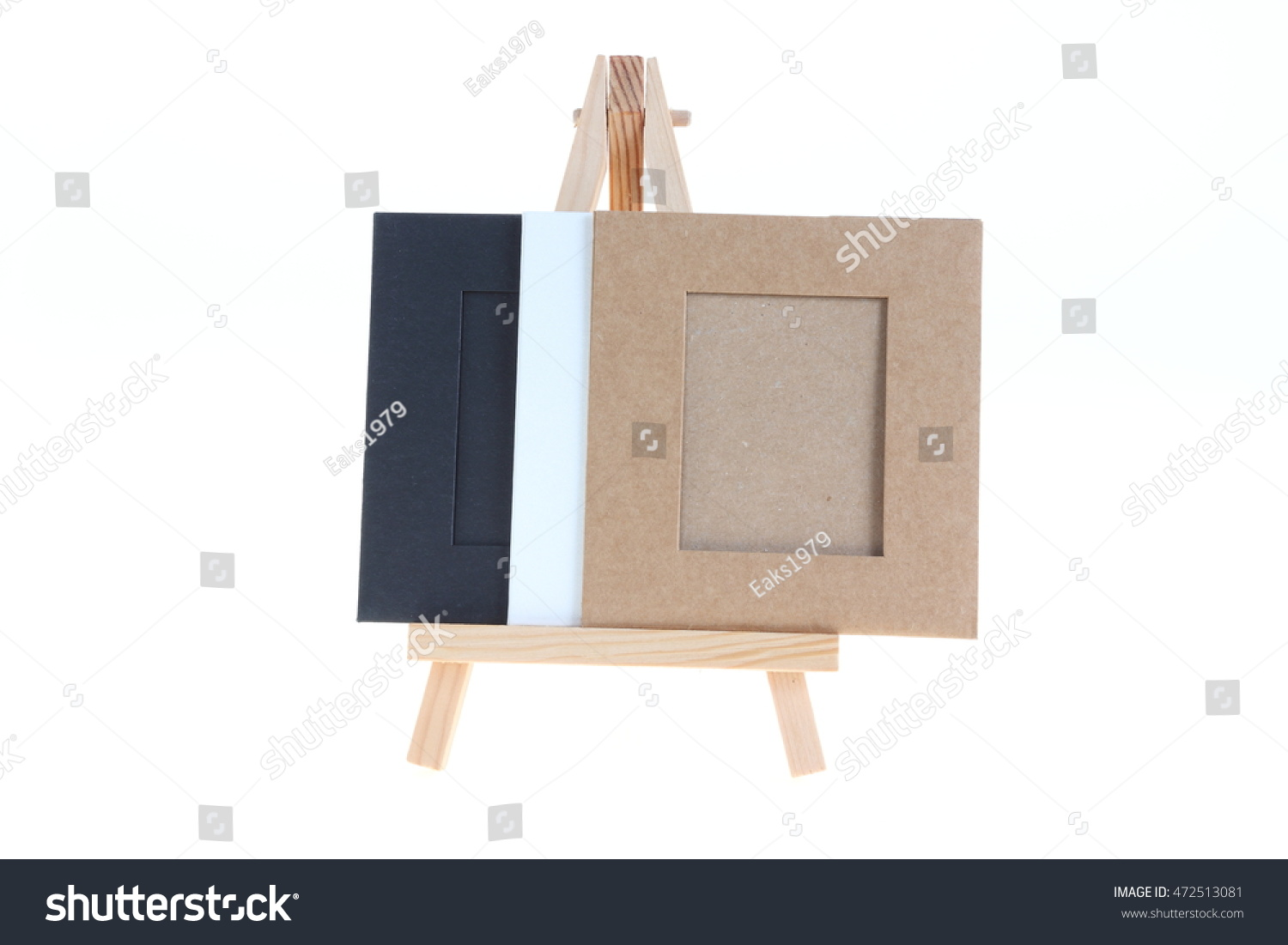 Paper Picture Frame Stand Board On Stock Photo 472513081 - Shutterstock