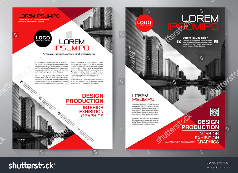 Business Brochure Flyer Design A4 Template Vectores En Stock ...