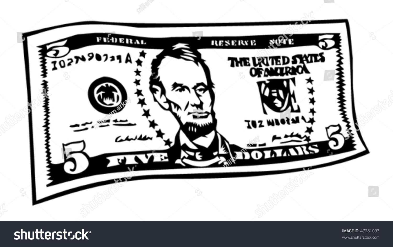 five dollar clipart - photo #22