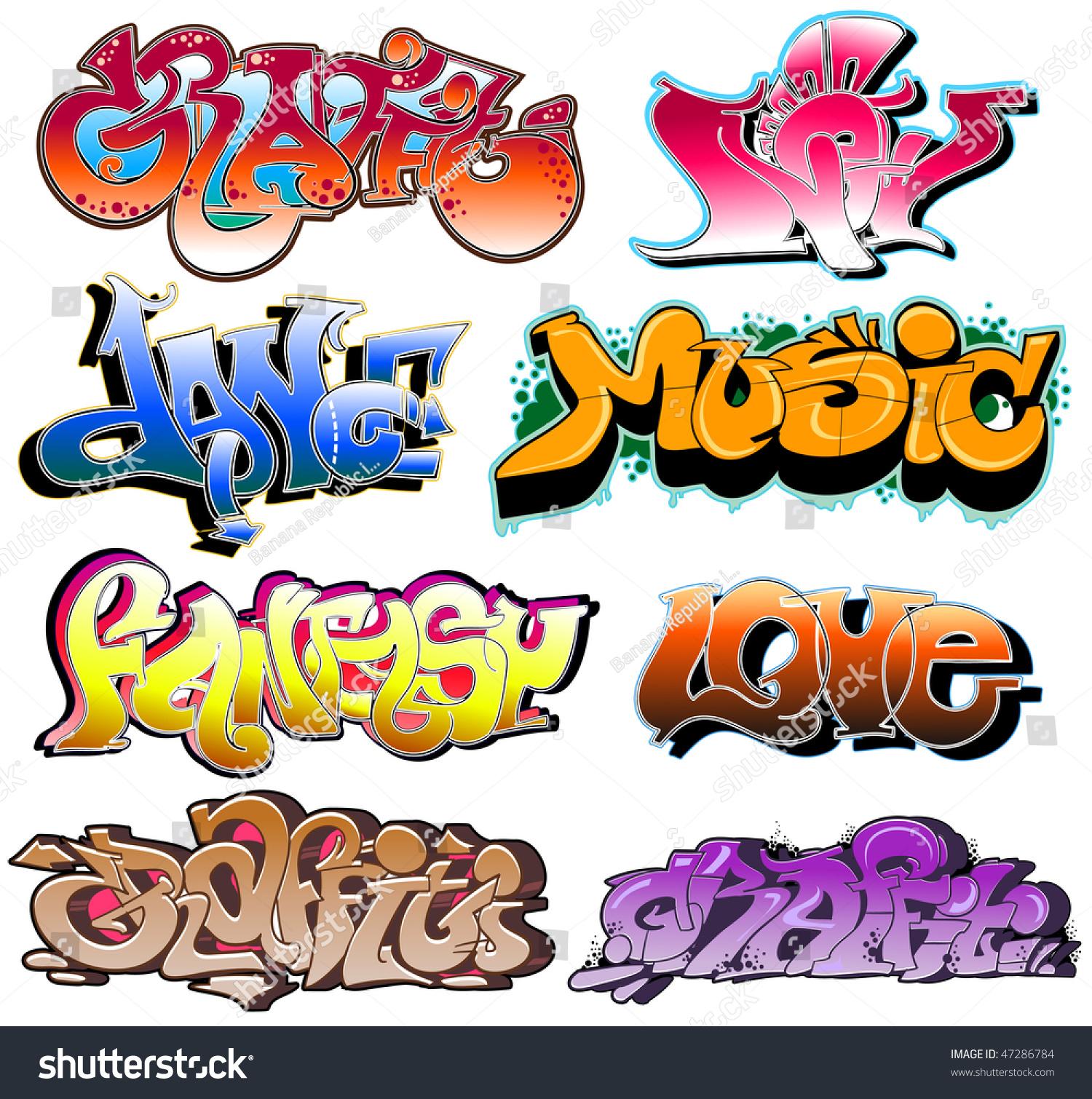 Graffiti art design - Graffiti Urban Art Vector Design