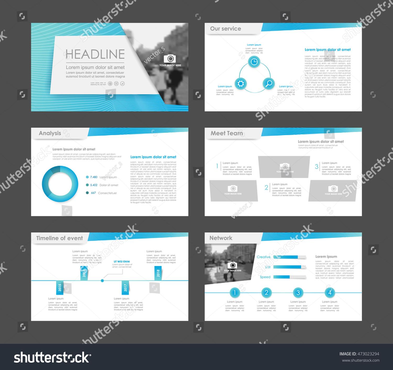 presentations templates leaflet annual report book stock vector 473023294 shutterstock. Black Bedroom Furniture Sets. Home Design Ideas