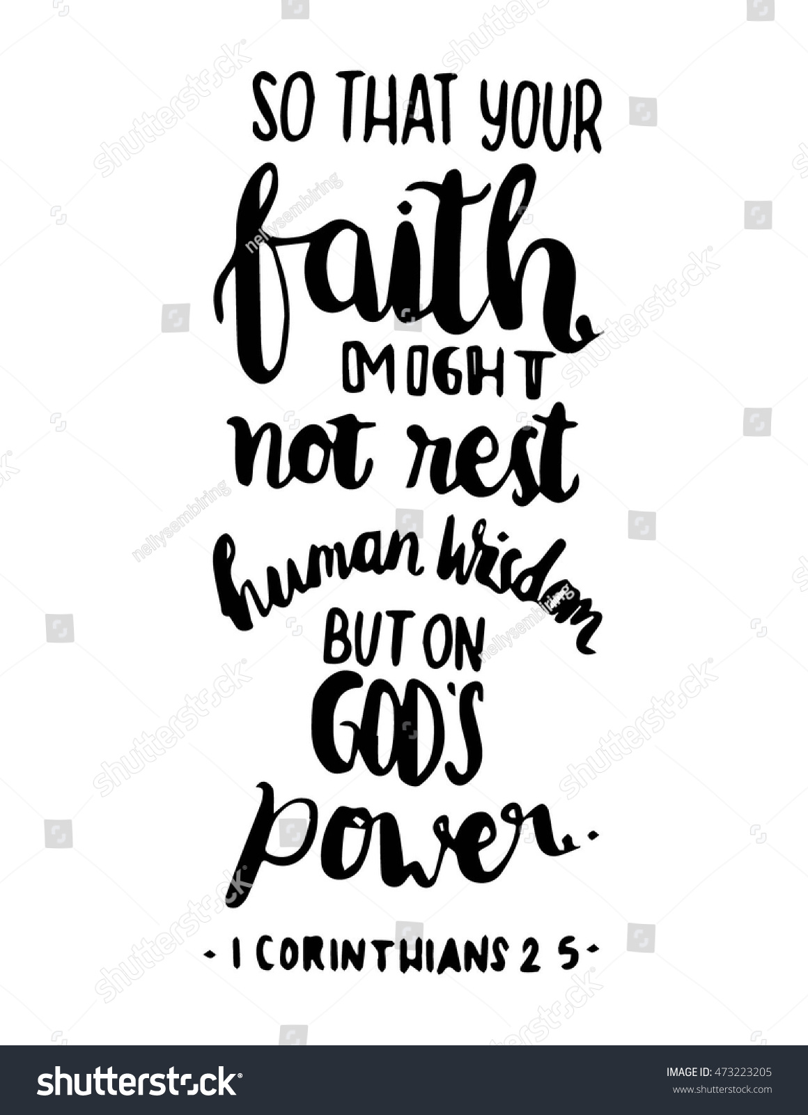 Bible Quotes About Faith Bible Quote Your Faith Might Not Stock Vector 473223205  Shutterstock