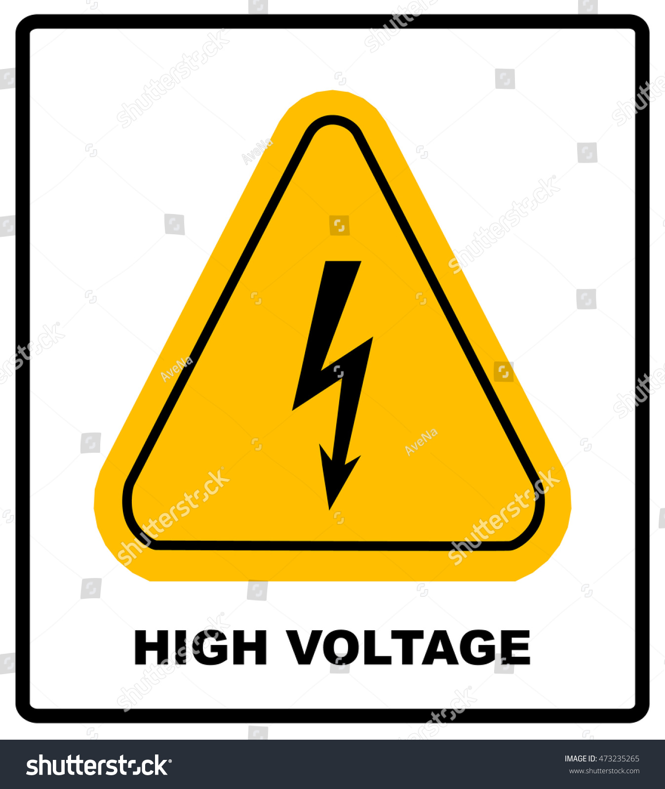 Awesome How To Wire Ssr Big Ibanez Pickup Wiring Clean Ibanez Rg Wiring Fender S1 Switch Wiring Diagram Young Coil Tap Wiring FreshStrat Wiring Bridge Tone High Voltage Sign Danger Banner Text Stock Vector 473235265 ..