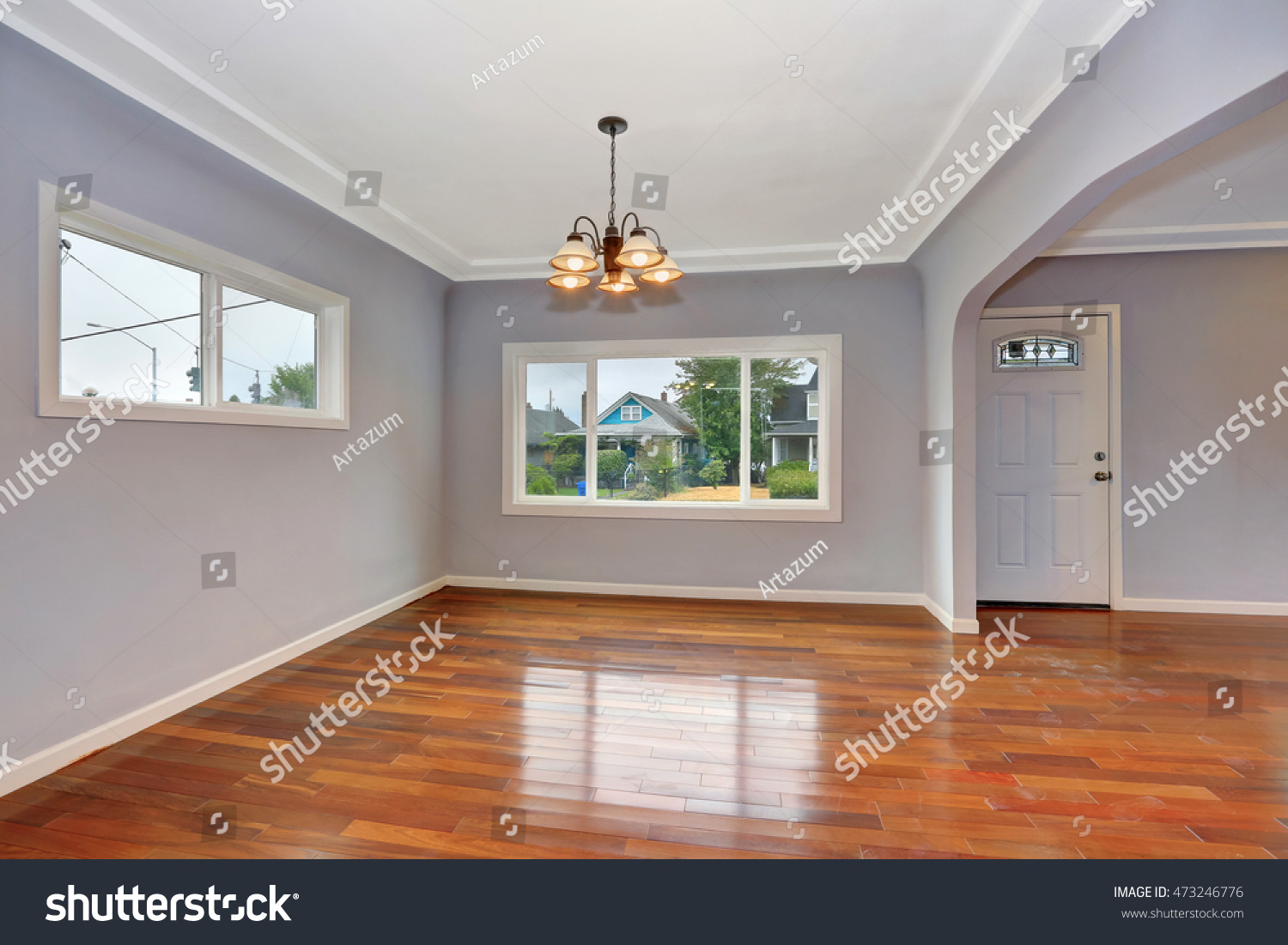 Foyer And Entryways Usa : Empty old house interior entryway hardwood stock photo