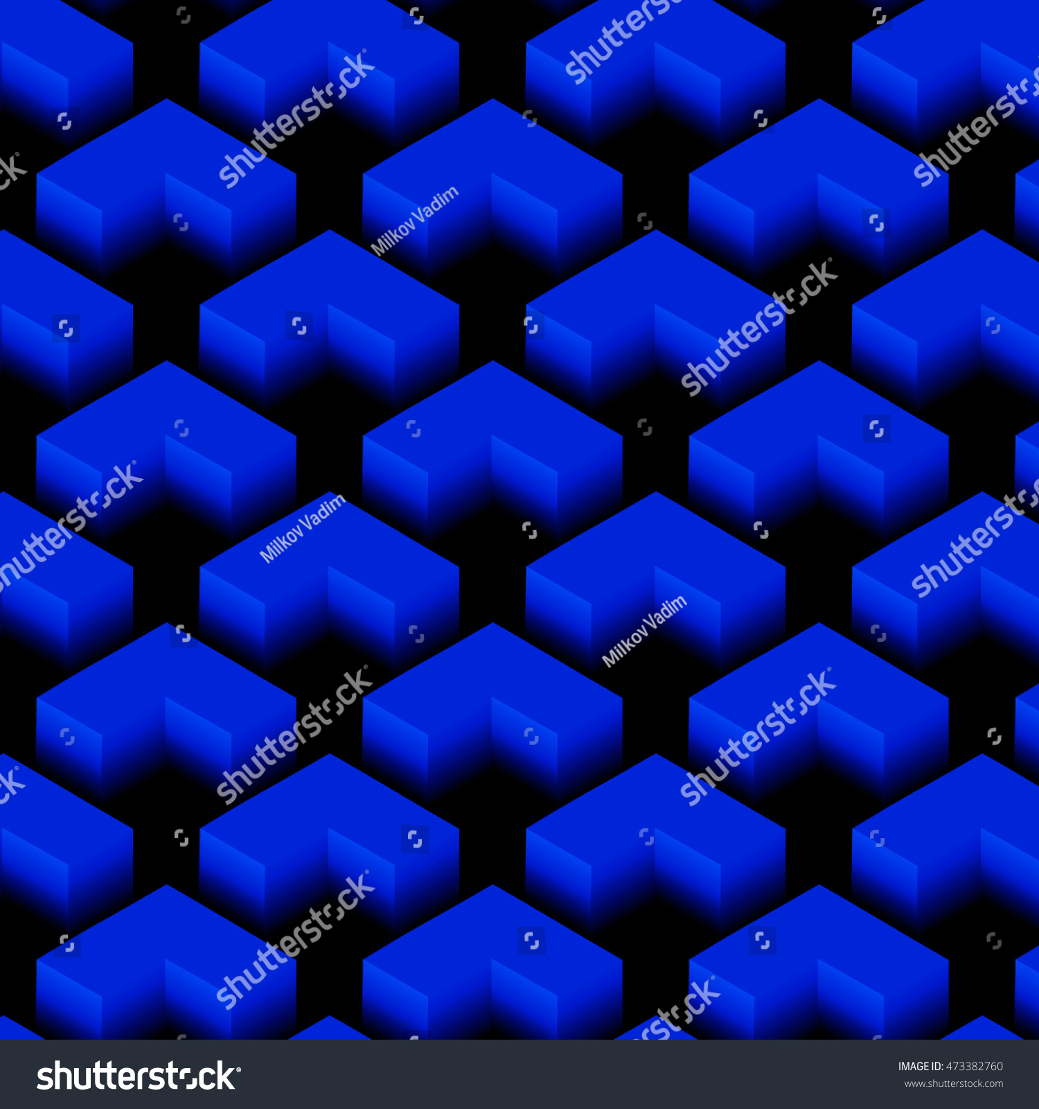 Design element abstract seamless vector pattern stock for Object pool design pattern