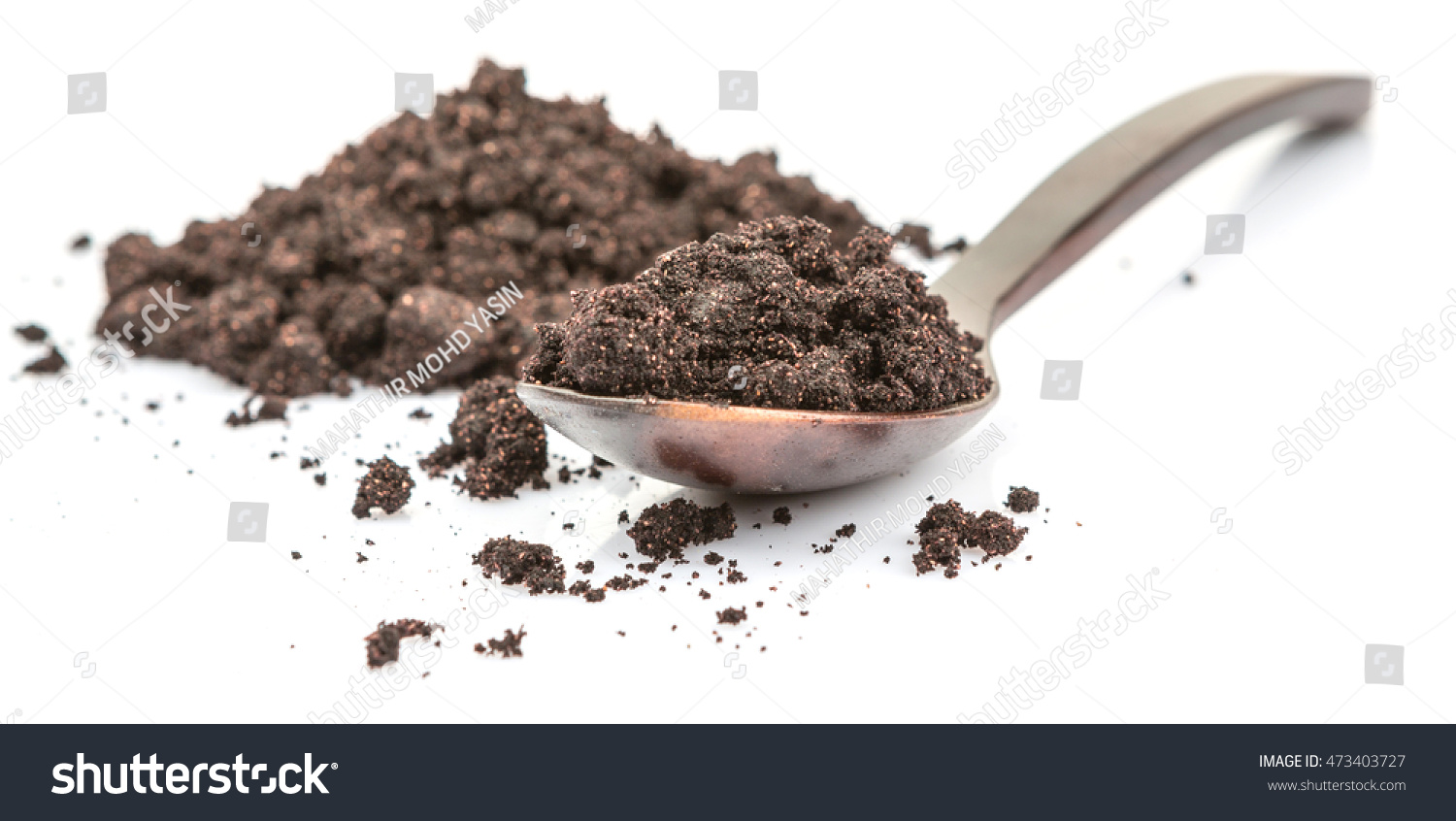 Super Food Dried Maqui Berry Powder Stock Photo Edit Now 473403727