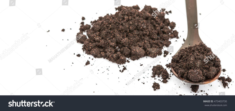 Super Food Dried Maqui Berry Powder Stock Photo Edit Now 473403730