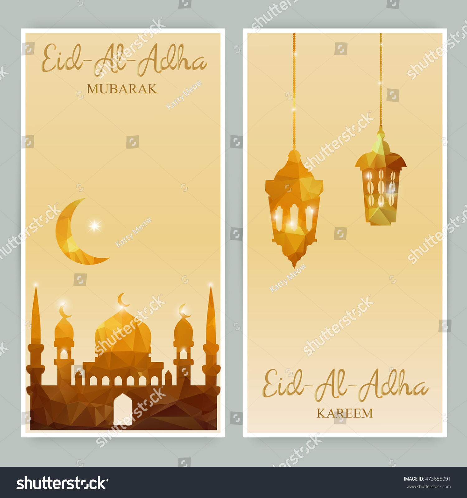 Greeting cards banners mosques stars moon stock vector 473655091 greeting cards or banners with mosques stars moon and arabic lamp eid m4hsunfo
