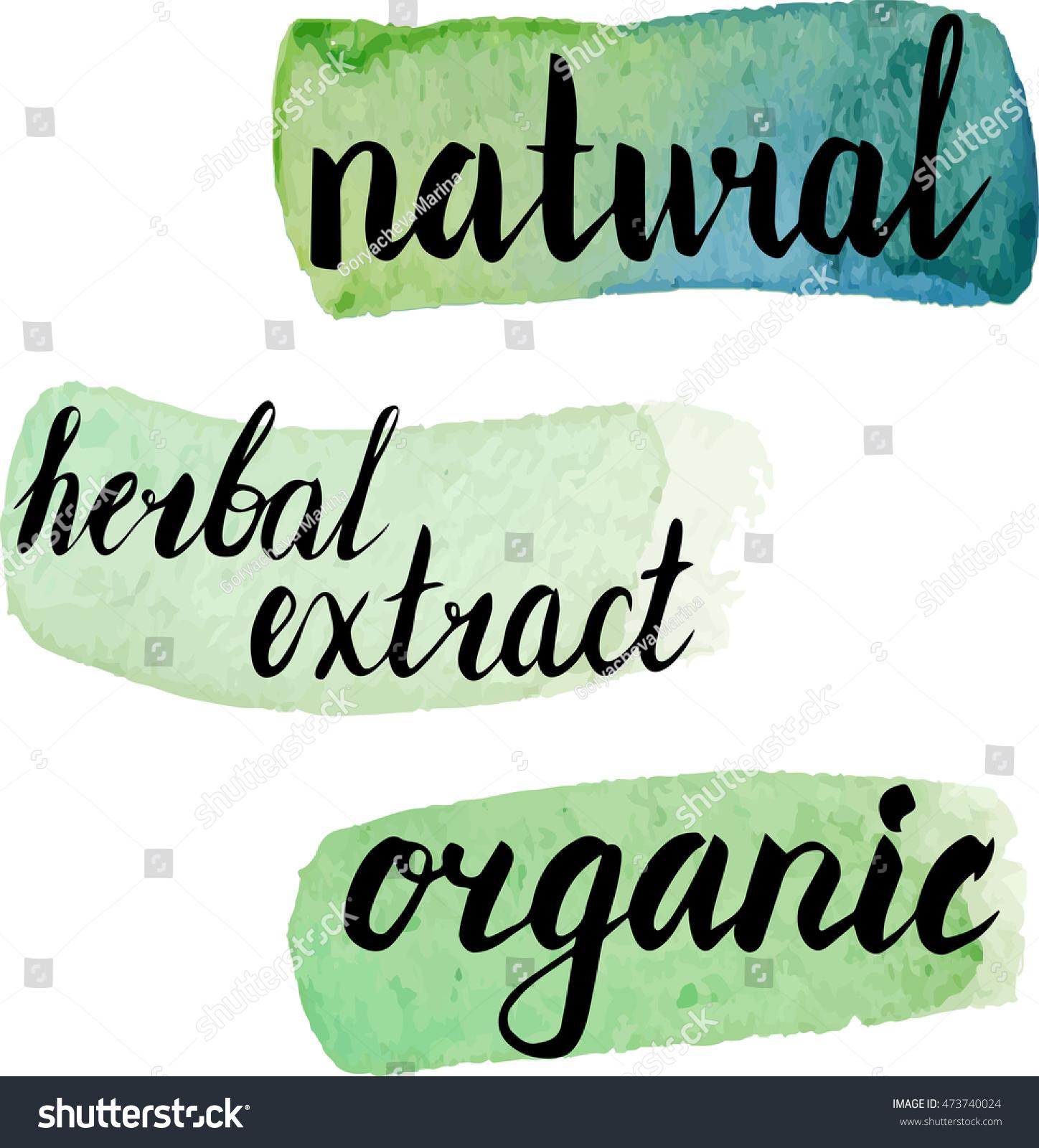 recipe: organic herbal extracts [39]