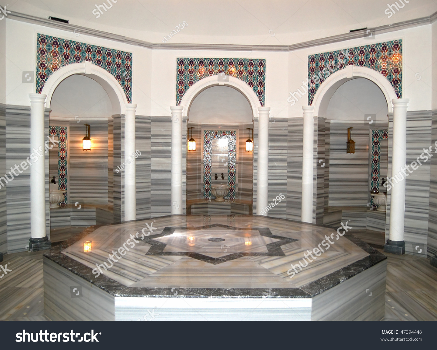 turkish bath hamam hotels spa area stock photo 47394448 shutterstock. Black Bedroom Furniture Sets. Home Design Ideas