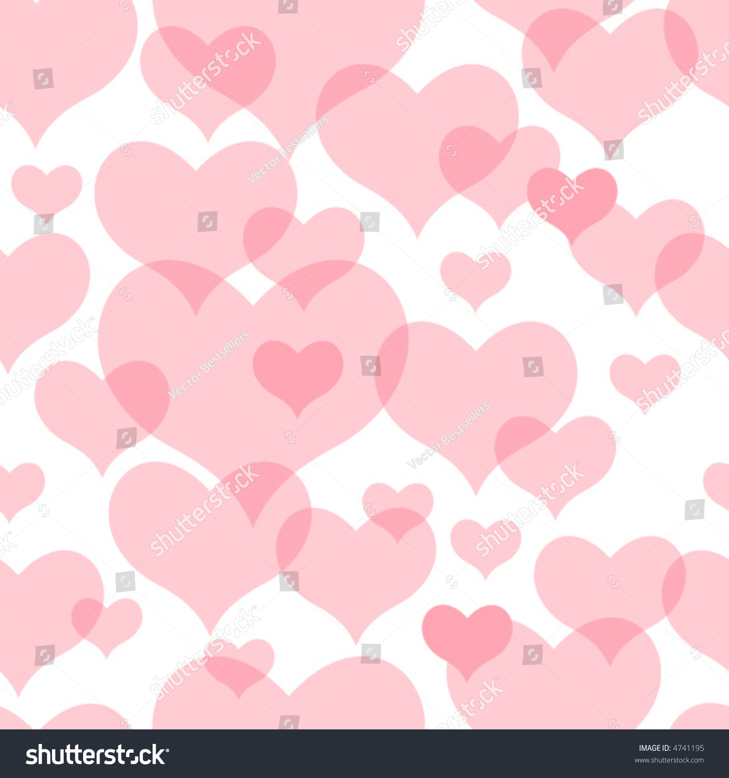 Seamless vector texture grunge hearts you stock vector for Wallpaper you can color