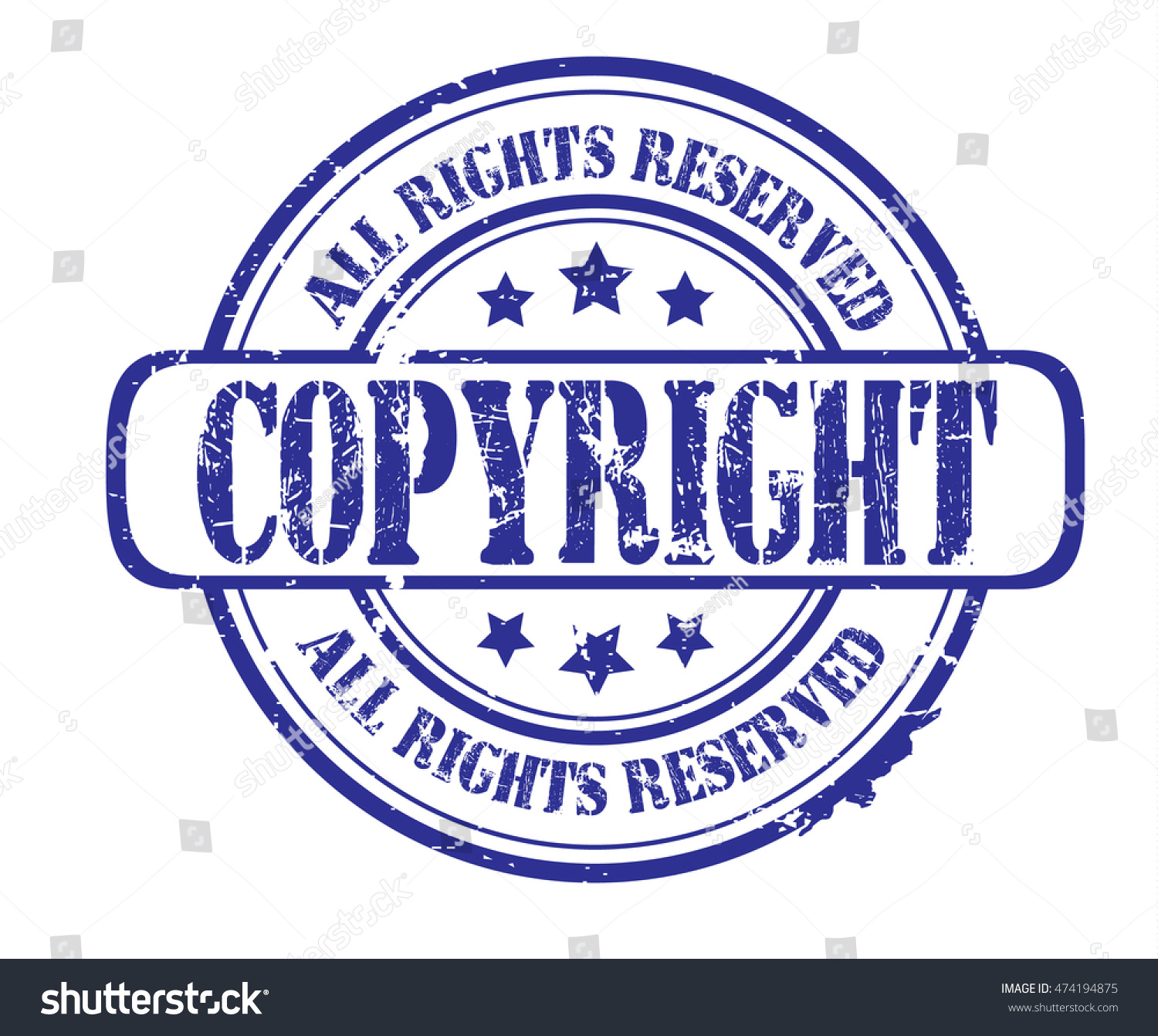 Rubber stamp text copyright all rights stock illustration rubber stamp with text copyright all rights reserved on white vector illustration biocorpaavc