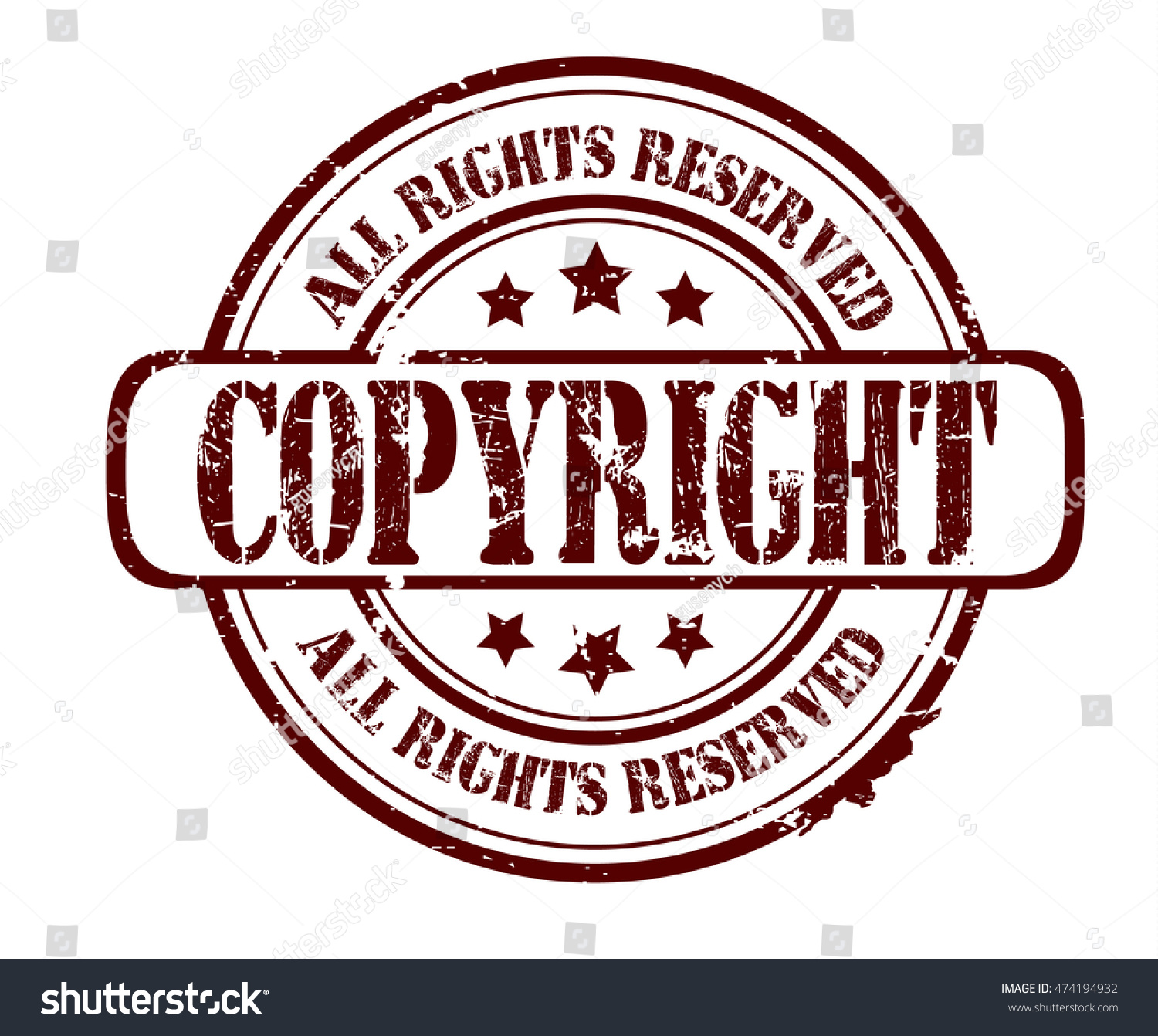 Rubber stamp text copyright all rights stock illustration rubber stamp with text copyright all rights reserved on white vector illustration buycottarizona