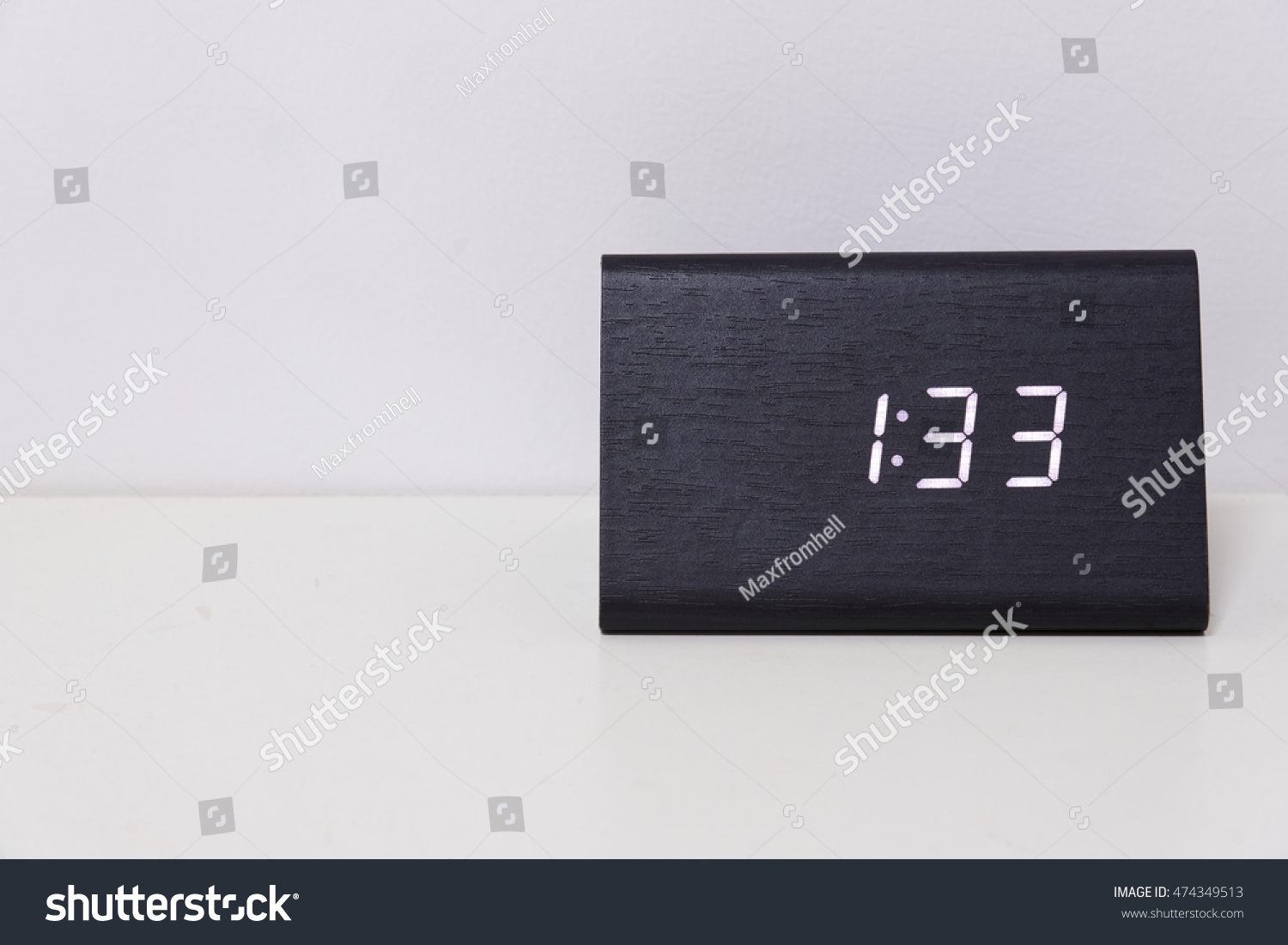 Number 33 free picture of the number thirty three - Black Digital Clock On A White Background Showing Time 1 33 One Hour Thirty Three Minutes Stock Photo