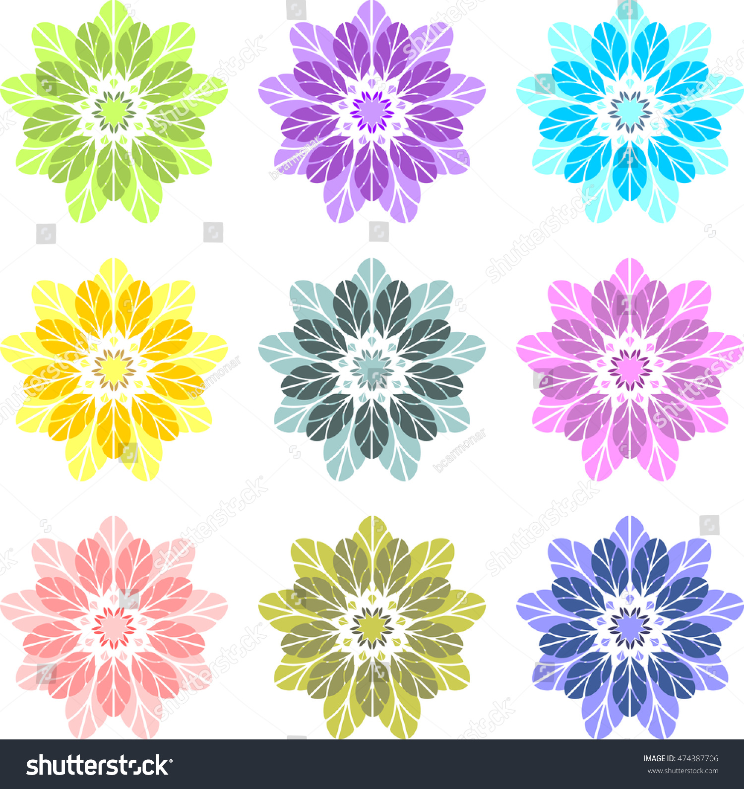 Flowers similar dahlia passionflower flower passion stock vector flowers similar to dahlia passionflower flower of the passion flower of lotus izmirmasajfo Choice Image