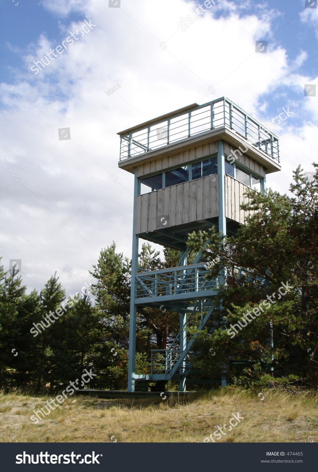 Bird Watching Tower Stock Photo 474465 Shutterstock