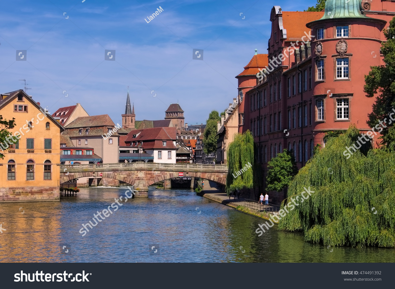 Strasbourg petite france alsace france stock photo for Alsace carrelage strasbourg