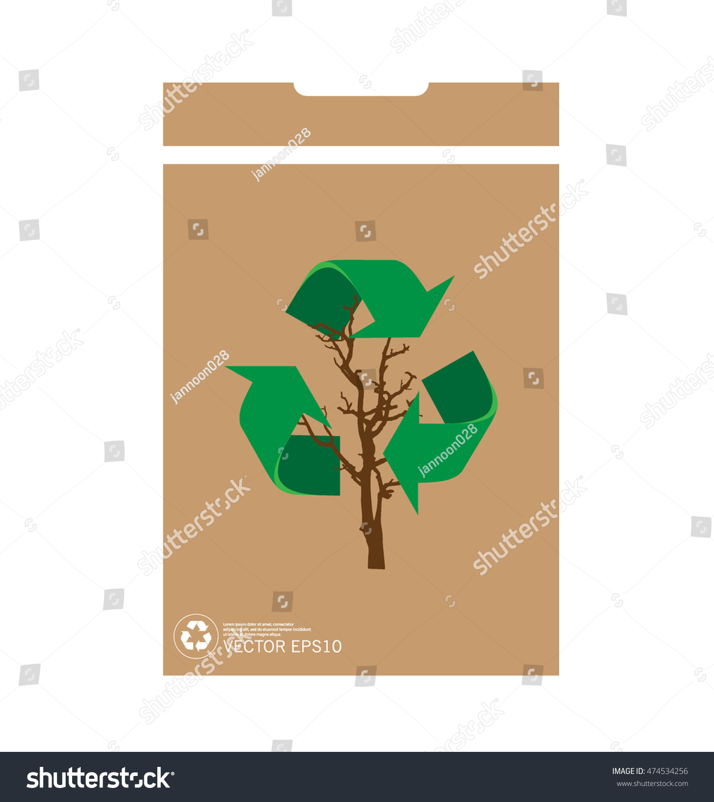 Recycle symbol vector symbol on packaging stock vector 474534256 recycle symbol vector symbol on the packaging vector illustration buycottarizona Images