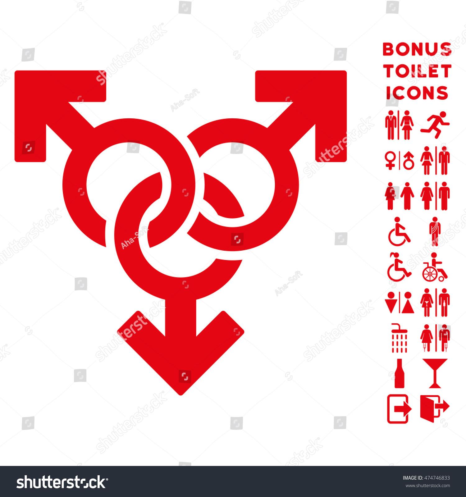 Group gay sex icon bonus man stock illustration 474746833 group gay sex icon and bonus man and female restroom symbols glyph illustration style is buycottarizona