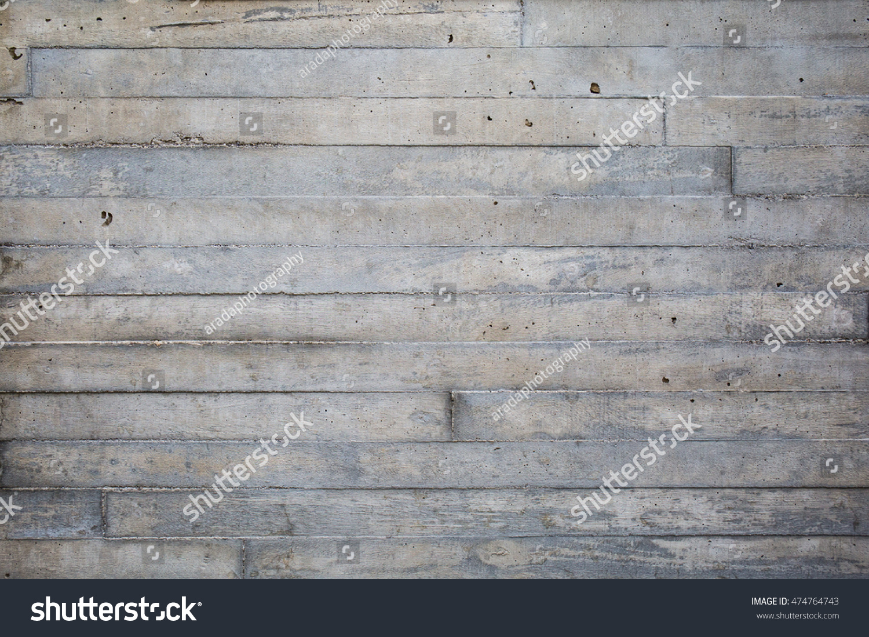 Concrete Wall Texture Wooden Pattern Impress Stock Photo Edit Now