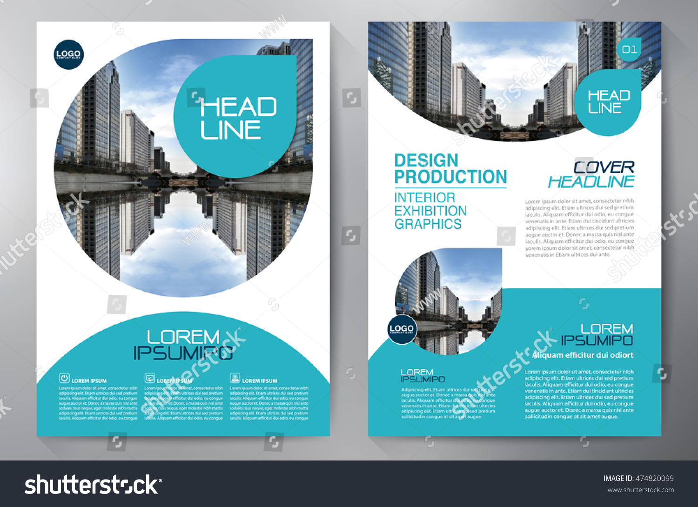 Business Brochure Flyer Design A4 Template Stock Vector 474820099 ...