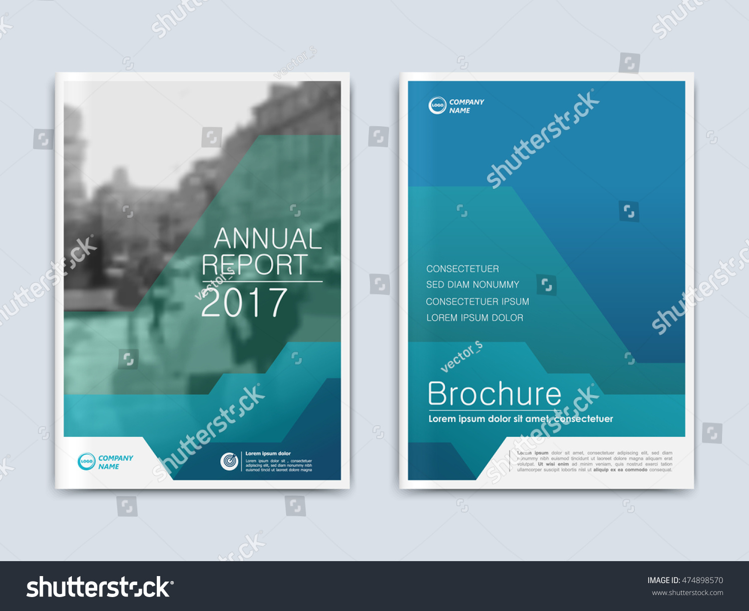 brochure annual report flyer presentation front stock vector brochure annual report flyer presentation front page book cover layout design