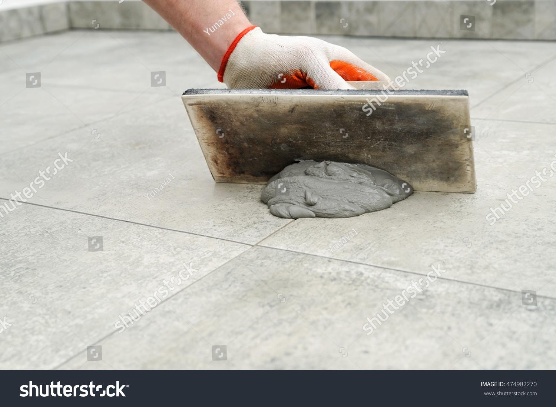 How to grout tile floor diy