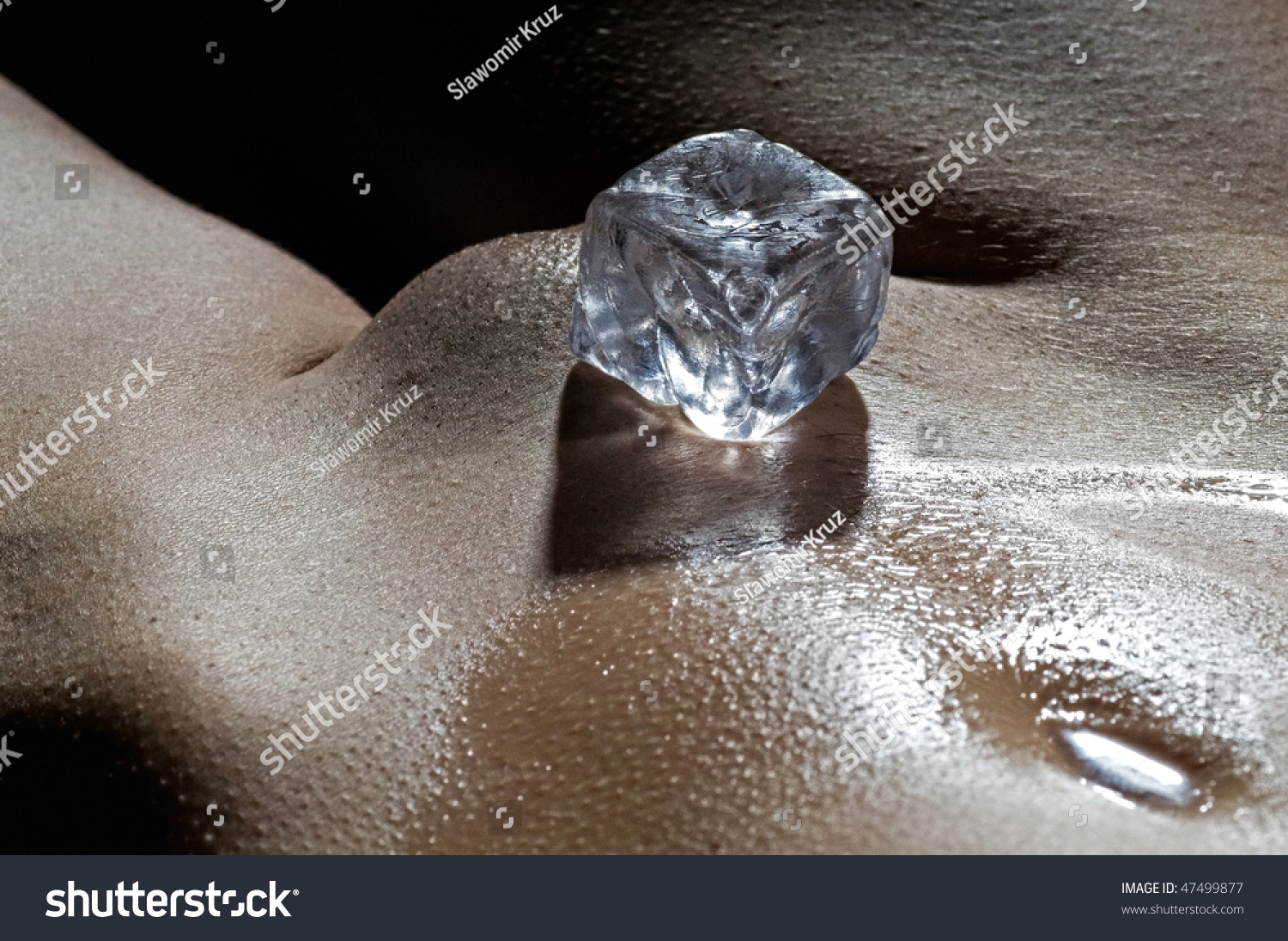 What from Nude women with ice cubes