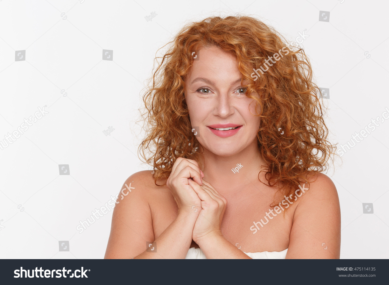 Beautiful natural mature women