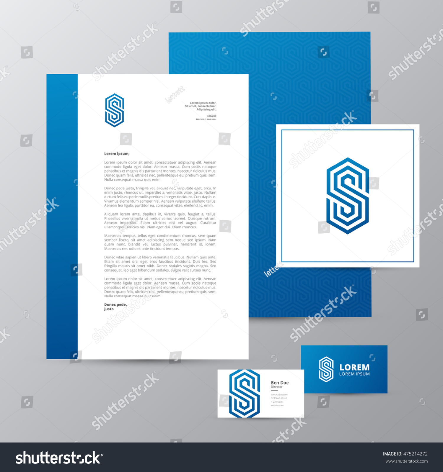 Letterhead and business cards image collections free business cards letter s logo letterhead business card stock vector 475214272 letter s logo letterhead and business card magicingreecefo Images