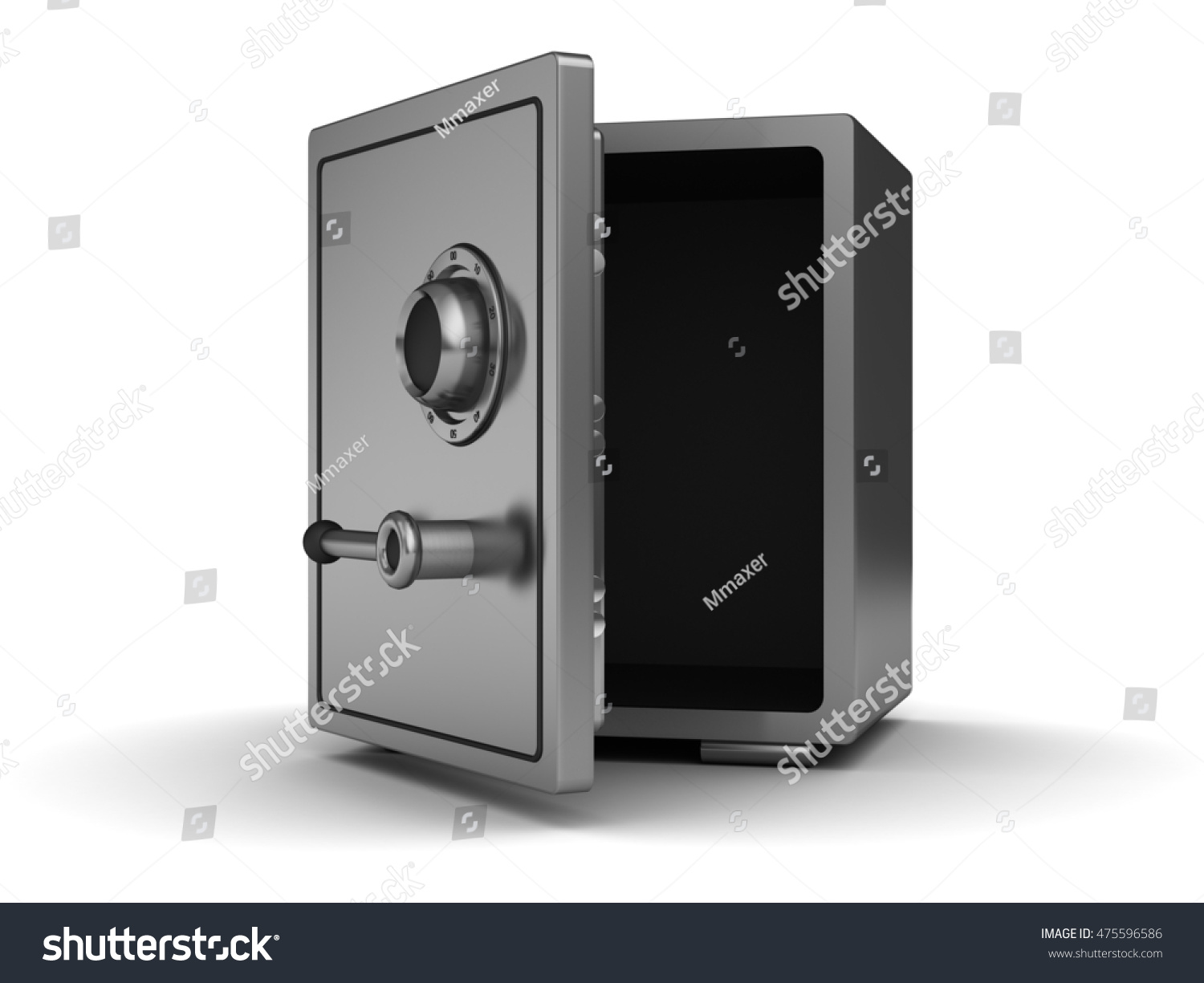 opened safe