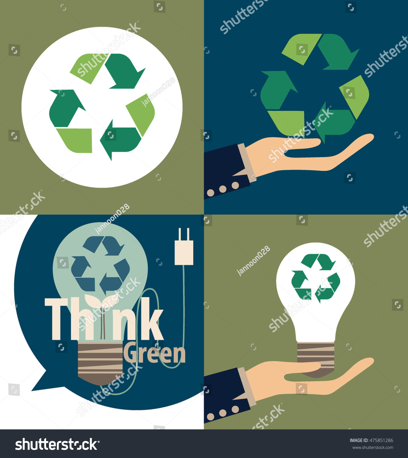 Hand holding recycle symbol vector symbol stock vector 475851286 hand holding recycle symbol vector symbol on the packaging vector illustration buycottarizona Images