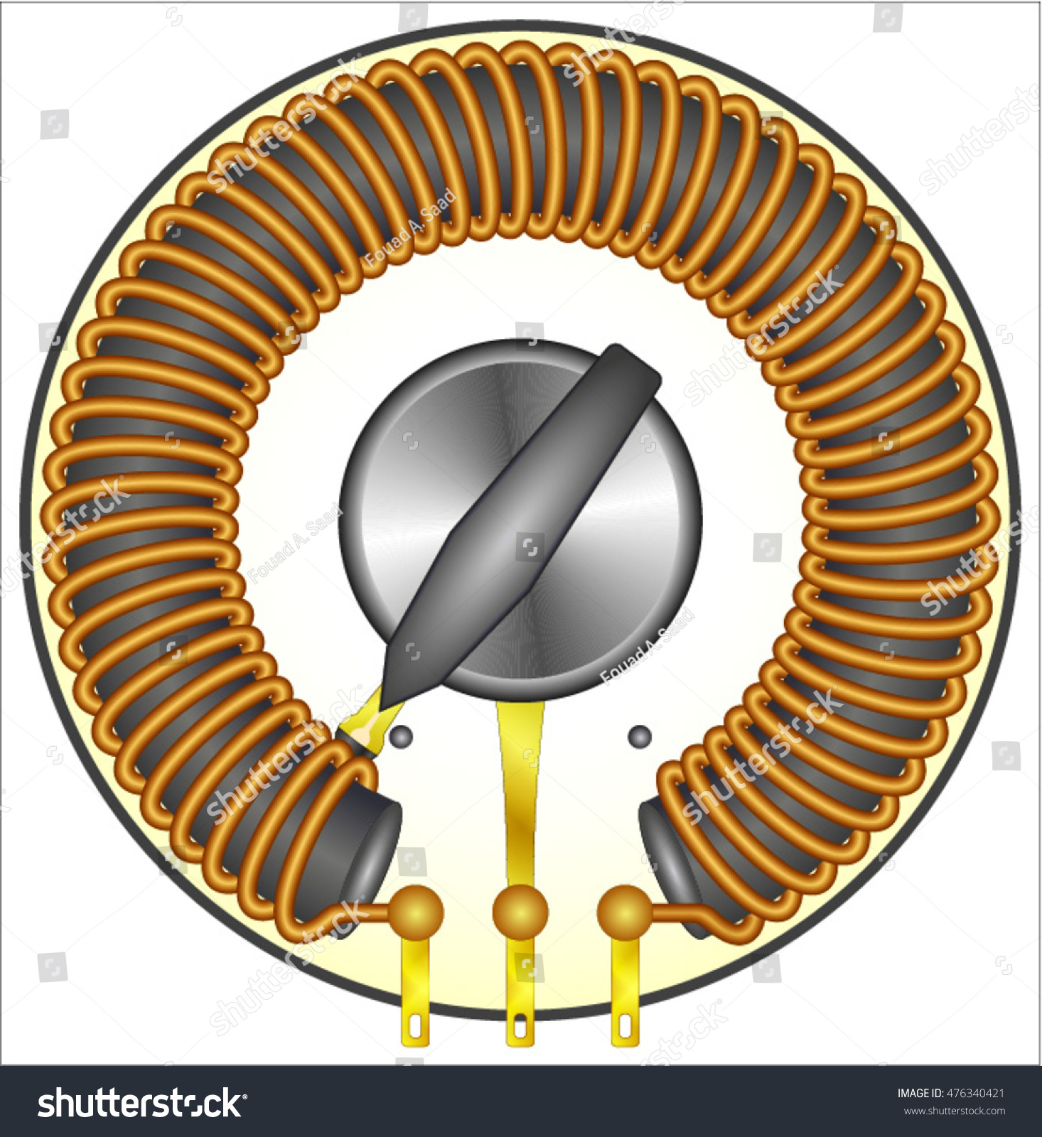 Coil (air core) symbol