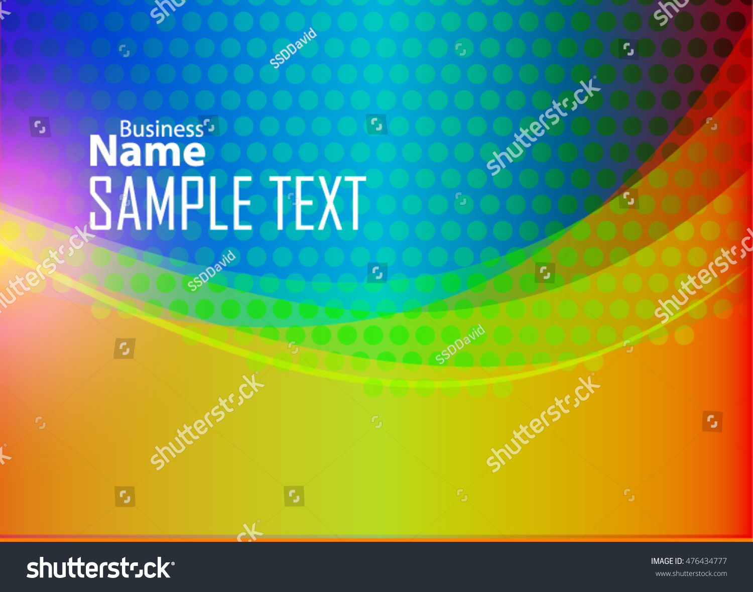 Color Abstract Background Business Card Banner Stock Photo (Photo ...
