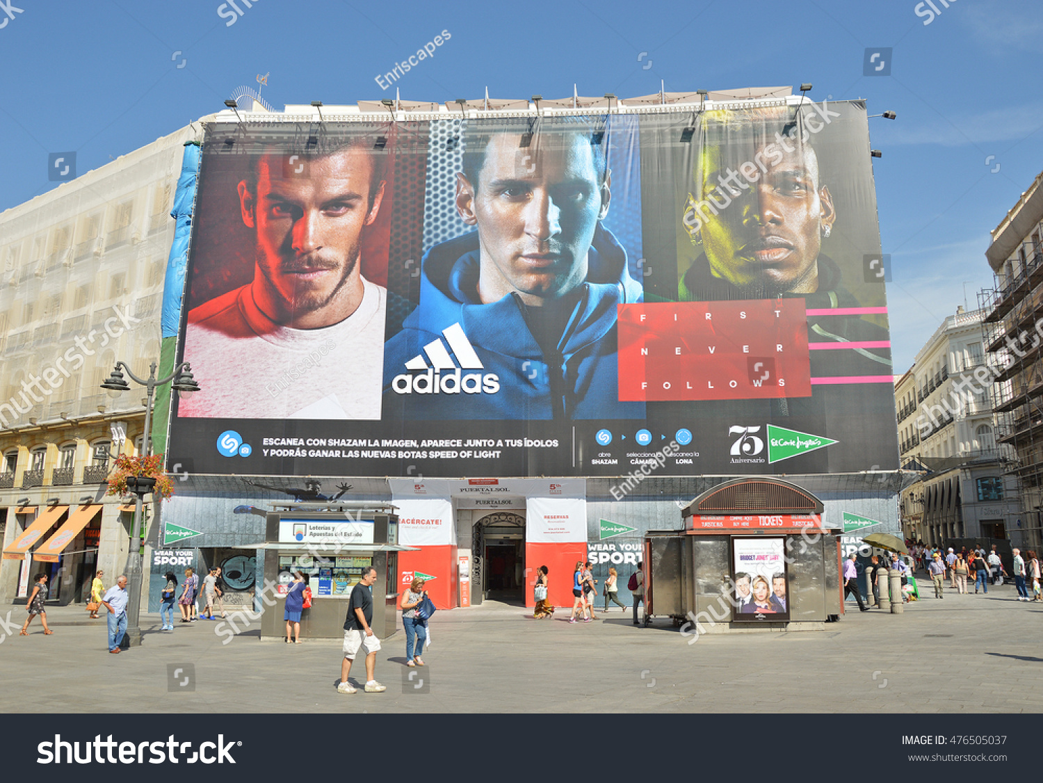 punto final Maestro Leia  Madrid Spain August 30 Adidas Spot Stock Photo (Edit Now) 476505037