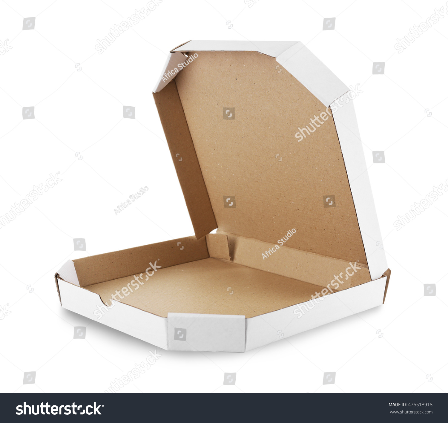 Pizza box isolated on white  sc 1 st  Shutterstock & Pizza Box Isolated On White Stock Photo (Edit Now) 476518918 ...